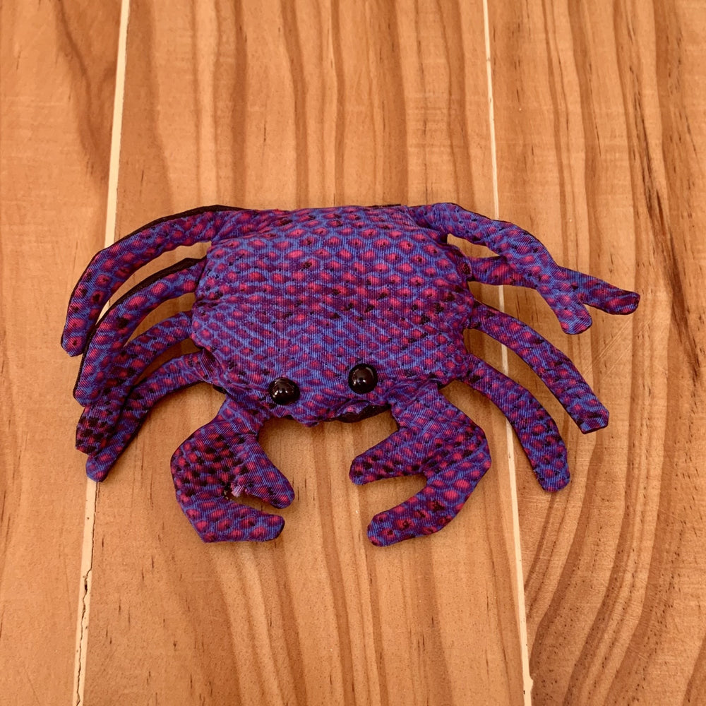 Pocket Pals ~ Crab (Small) - Peaceful Lotus - weighted blankets - acupressure - better sleep - sensory processing disorder - adhd - special needs - calm anxiety