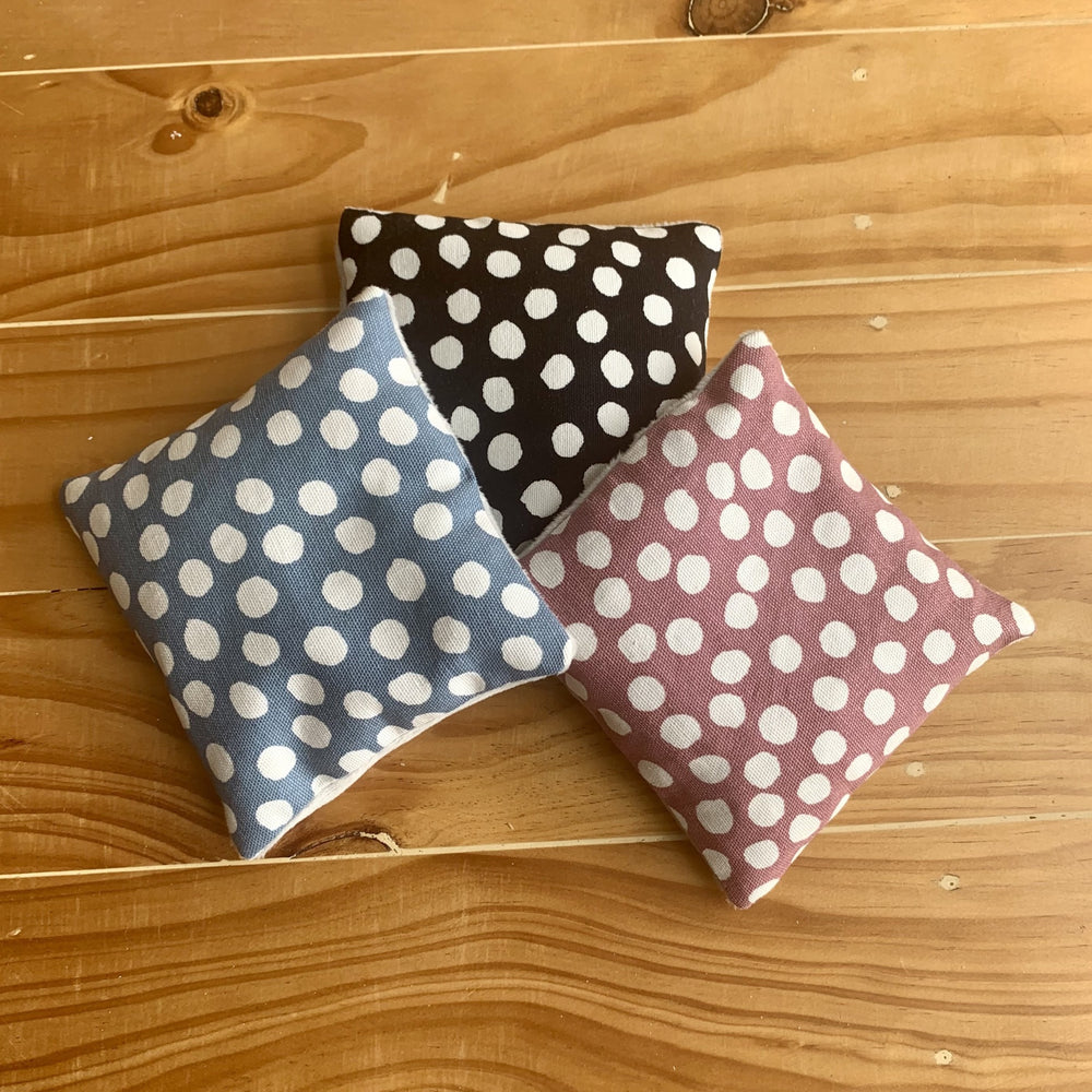 Sensory Beanies - Polka Dot Collection - Peaceful Lotus - weighted blankets - acupressure - better sleep - sensory processing disorder - adhd - special needs - calm anxiety