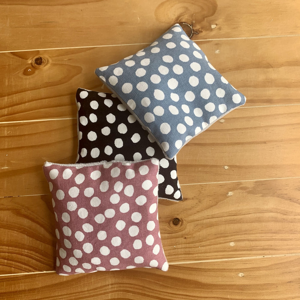 Sensory Beanies - Polka Dot Collection - Peaceful Lotus