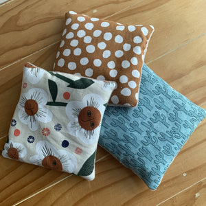 Sensory Beanies - Nature Collection - Peaceful Lotus - weighted blankets - acupressure - better sleep - sensory processing disorder - adhd - special needs - calm anxiety