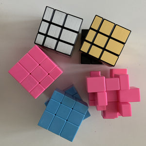 Magic Cube Puzzle - Peaceful Lotus - weighted blankets - acupressure - better sleep - sensory processing disorder - adhd - special needs - calm anxiety