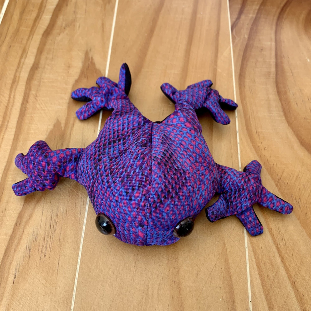 Pocket Pals - Frog (Medium) - Peaceful Lotus - weighted blankets - acupressure - better sleep - sensory processing disorder - adhd - special needs - calm anxiety