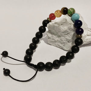 Diffuser Bracelet - Single Adjustable - Peaceful Lotus