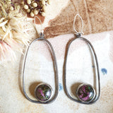 Peg+Woo - Organic Oval Large Earrings