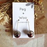 Peg+Woo - Pod Earrings