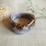 Bangle - Curve Misty Lavender/Grey