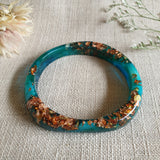 Bangle - Large Circle Kelly Green