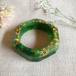 Bangle - Hex Green