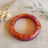 Bangle - Offset Orange/Purple