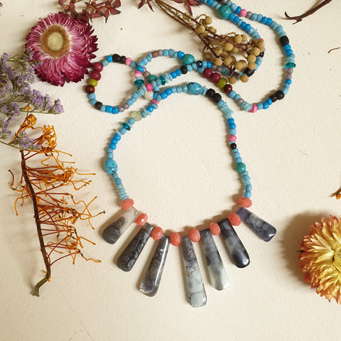 FUNDRAISER Tribal Necklace
