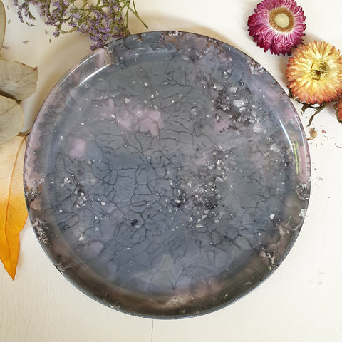 FUNDRAISER Regular Platter - Grey/Pink