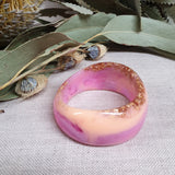 Bangle - Curve Pop Pink and Peach