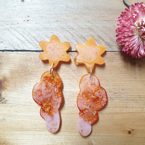 Party Mix Earrings - Clouds - Sherbet