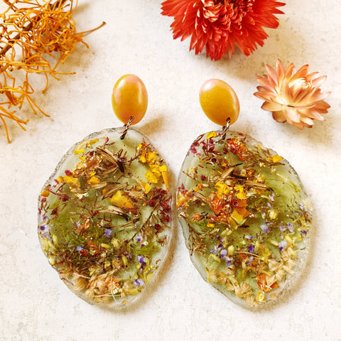 Metanical Geodes - Green + Yellow