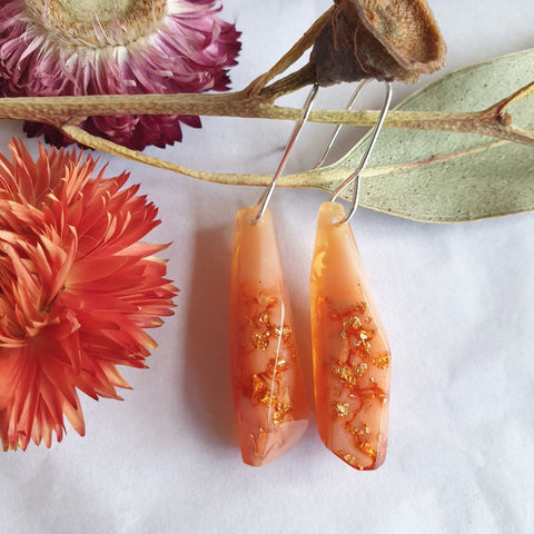 Shard Earrings - Sherbert