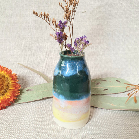 Ceramic Mini Vase - Multi