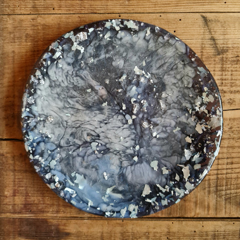 Side Dish - Blues and silver