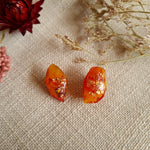 Nugget Studs - Orange