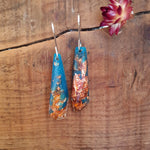Shard Earrings - Deep Turquoise