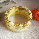 Bangle - Round Yellow