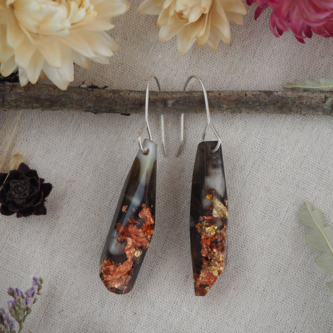 Shard Earrings - Warm Neutral