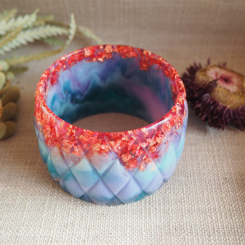 Bangle - Quilted Unicorn