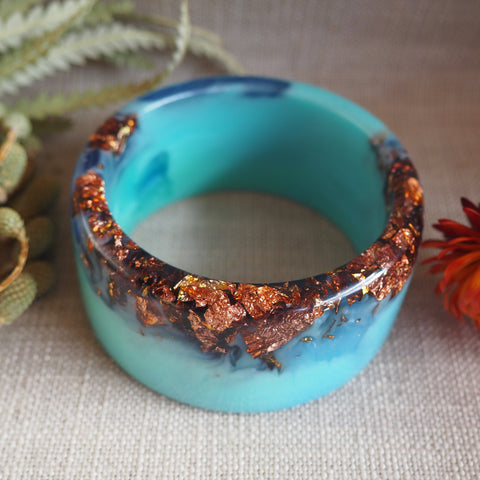 Bangle - Round Turquoise