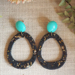 Orbit Earrings - Black