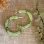 Hoop Earrings - Mint