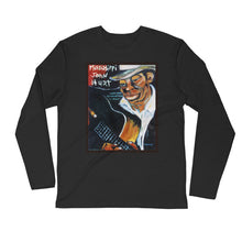 "Load image into Gallery viewer, Stan Street ""Mississippi John Hurt"" Long Sleeve Fitted Crew"
