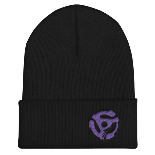 LYRIC.life Purple 45 Cuffed Beanie