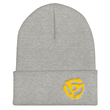 Load image into Gallery viewer, LYRIC.life Gold 45 Cuffed Beanie