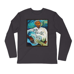"Stan Street ""Son House"" Long Sleeve Fitted Crew"