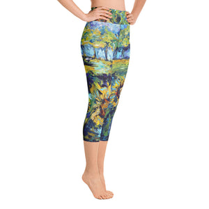 "Stan Street ""Summer"" Yoga Capri Leggings"