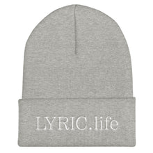Load image into Gallery viewer, LYRIC.life Black Logo Beanie