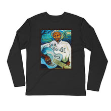 "Load image into Gallery viewer, Stan Street ""Son House"" Long Sleeve Fitted Crew"