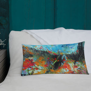 "Stan Street ""Delta Spring"" Premium Rectagular Pillow"