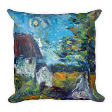 "Load image into Gallery viewer, Stan Street ""Delta Spring"" Premium Pillow"