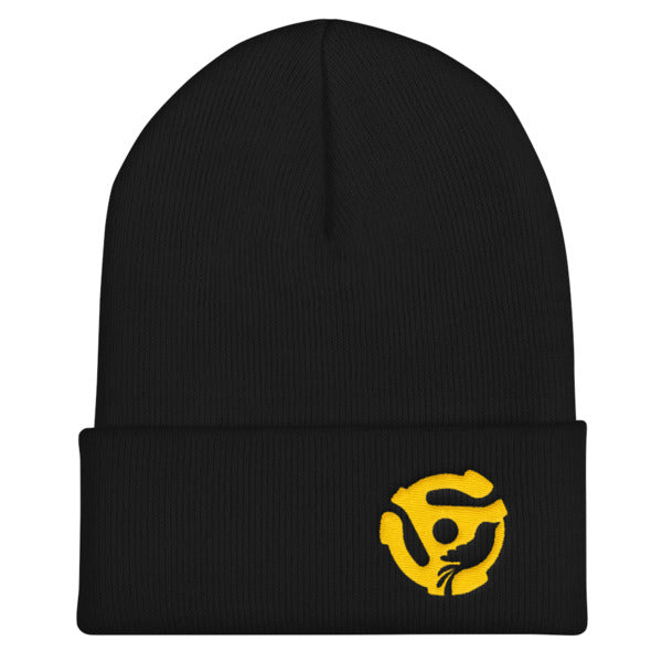 LYRIC.life Gold 45 Cuffed Beanie