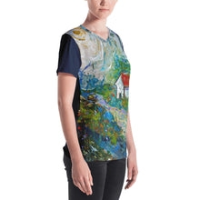 "Load image into Gallery viewer, Women's Stan Street ""Meadow"" V-neck"