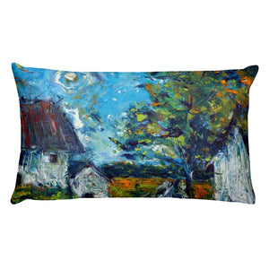 "Stan Street ""Delta Spring"" Premium Rectangular Pillow"