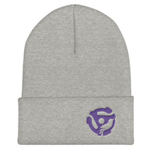 Load image into Gallery viewer, LYRIC.life Purple 45 Cuffed Beanie