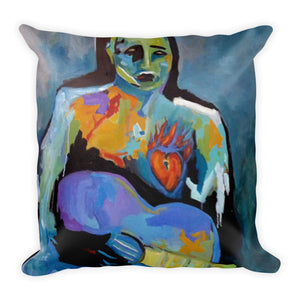 "Stan Street ""Burning Heart"" Premium Pillow"