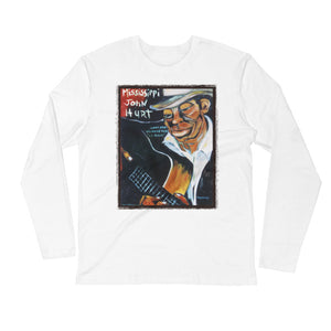 "Stan Street ""Mississippi John Hurt"" Long Sleeve Fitted Crew"