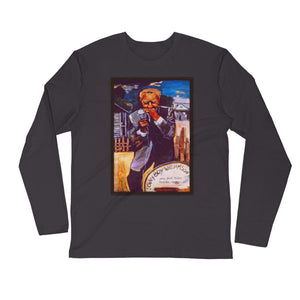 "Stan Street ""Sonny Boy Williamson"" Long Sleeve Fitted Crew"