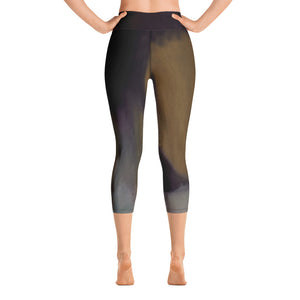 "Stan Street ""Holy Ghost"" Yoga Capri Leggings"