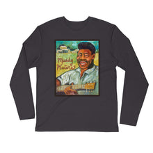 "Load image into Gallery viewer, Stan Street ""Muddy Waters"" Long Sleeve Fitted Crew"