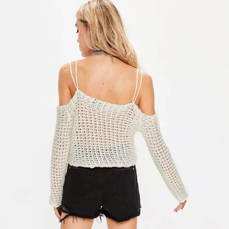 Knitted Sexy Women Top