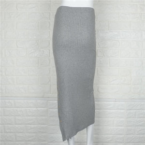 Sexy Knitted Skirt