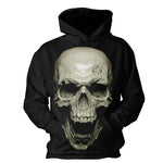 2018 3D Hoodies Men 3D Skull Print